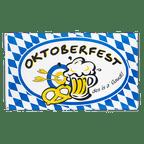 Oktoberfest, des is a gaudi - 3x5 ft Flag