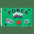 Poker - Flagge 90 x 150 cm