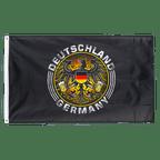 Drapeau Aigle allemand avec bière - 90 x 150 cm