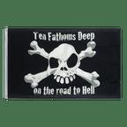 Pirate Ten Fathoms Deep - 3x5 ft Flag