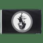 Pirate Black Sea - 3x5 ft Flag