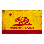 USA California Red-Gold - 3x5 ft Flag