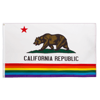 Rainbow California - 3x5 ft Flag