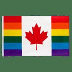 Rainbow Canada - 3x5 ft Flag