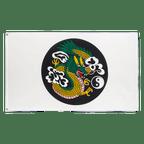 Chinese Dragon Circle - 3x5 ft Flag
