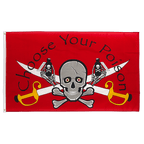 Pirate Choose Your Poison - 3x5 ft Flag