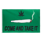 Spliff Come and take it - 3x5 ft Flag