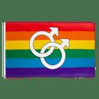 Rainbow Gay Mars Men Large - 3x5 ft Flag