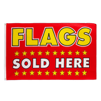 Flags Sold Here - 3x5 ft Flag