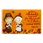 Give Thanks - 3x5 ft Flag