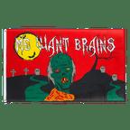 Halloween Zombie - 3x5 ft Flag