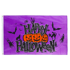 Happy Halloween Purple - 3x5 ft Flag