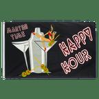 Happy Hour - 3x5 ft Flag