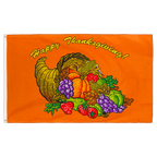 Happy Thanksgiving - 3x5 ft Flag
