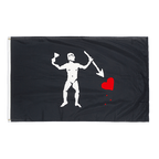 Pirate John Quelch Variation - 3x5 ft Flag