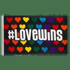 Rainbow Love Wins - 3x5 ft Flag