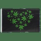 Marijuana Love - 3x5 ft Flag