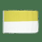 Kirche Gelb Weiß - Flagge 30 x 45 cm