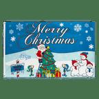Merry Christmas North Pole - 3x5 ft Flag