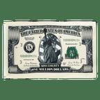 Million Dollars - 3x5 ft Flag