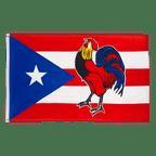 Puerto Rico Cock - 3x5 ft Flag