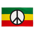 Peace Rasta - 3x5 ft Flag