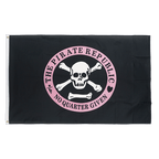 Pirate Republic pink - 3x5 ft Flag