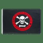 Pirate Republic red - 3x5 ft Flag