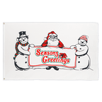 Seasons Greetings - 3x5 ft Flag
