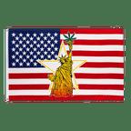 USA Statue of Liberty - 3x5 ft Flag