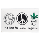 Time for Peace - 3x5 ft Flag
