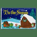 Tis the Season - 3x5 ft Flag