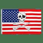 USA Pirate - 3x5 ft Flag