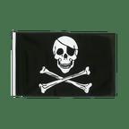 Pirate Skull and Bones - 12x18 in Flag