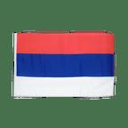 Serbia - 12x18 in Flag
