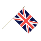 Great Britain - Hand Waving Flag 12x18""