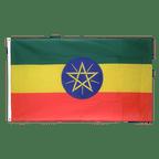 Äthiopien mit Stern - Flagge 90 x 150 cm
