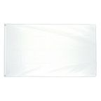 Weiße - Flagge 90 x 150 cm