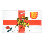 England with knight - 3x5 ft Flag