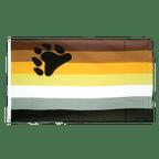 Gay Pride Bear - Flagge 90 x 150 cm