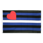 Gay Pride Leather - 3x5 ft Flag