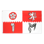 Leicestershire - 3x5 ft Flag