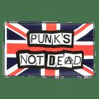 Drapeau Punks Not Dead - 90 x 150 cm