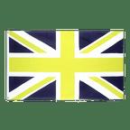 Union Jack Blau Gelb - Flagge 90 x 150 cm