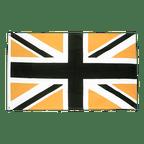 Union Jack Schwarz Gold - Flagge 90 x 150 cm