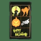 Happy Halloween - Flagge 90 x 150 cm