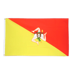 Italien Sizilien - Flagge 90 x 150 cm