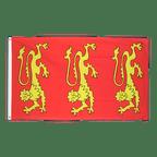 König Richard I. von England 1189 - Flagge 90 x 150 cm