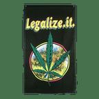 Drapeau Cannabis Legalize it - 90 x 150 cm