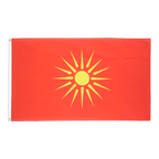 Drapeau Macédoine ancien 1992-1995 - 90 x 150 cm